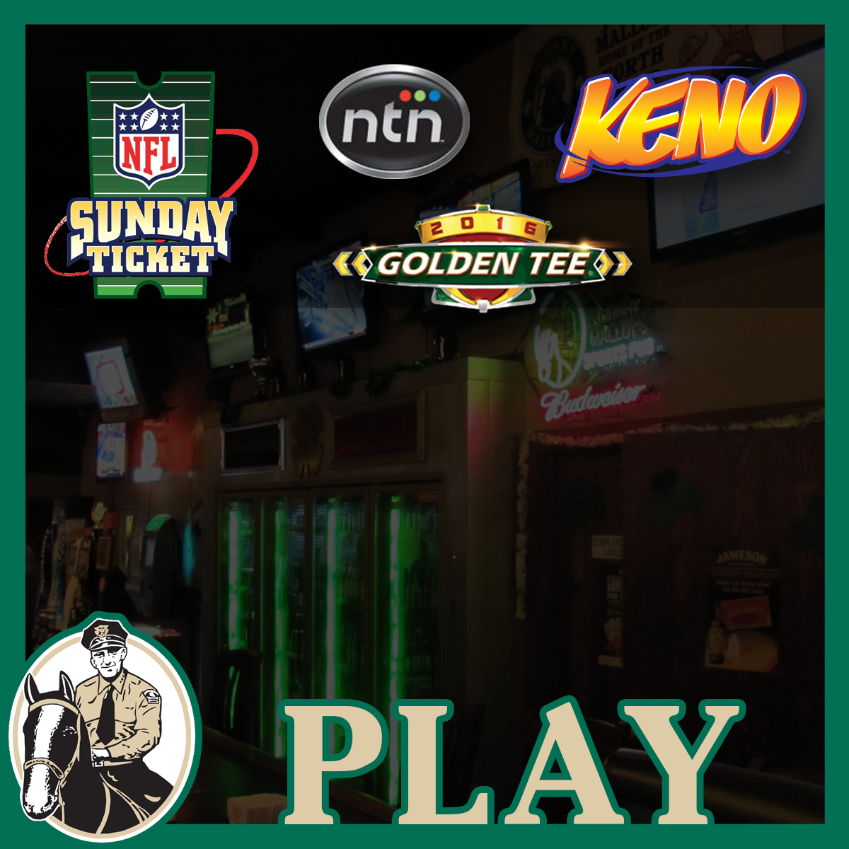 Play KENO at Johnny Malloy's Medina